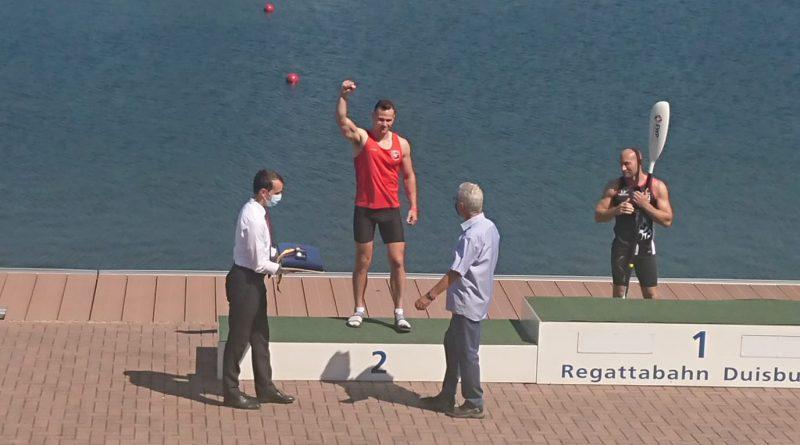 Herzlichen Glückwunsch an Jonas Draeger – Silber im K1 200m – Deutsche Meisterschaft