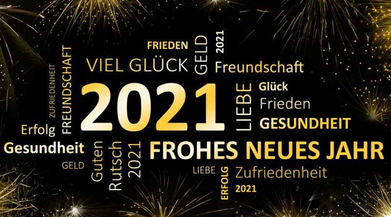 Wir wünschen allen ein gesundes neues Jahr 2021!